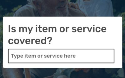 Have you tried the What's Covered Medicare app?
